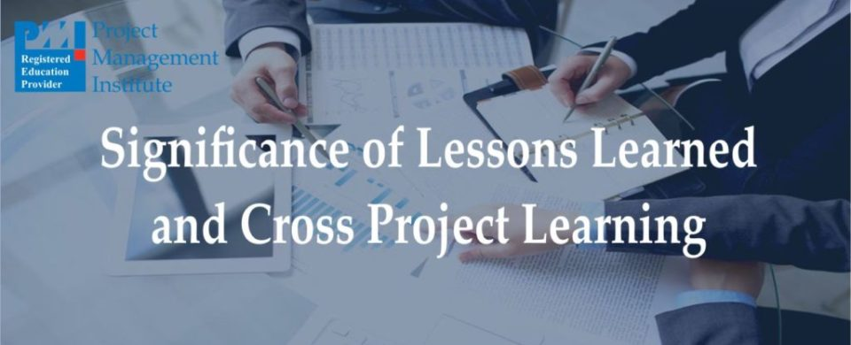 PMP Cross Project-Learning